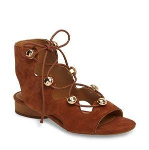 CCO Rebecca Minkoff Kyla Ghillie Gladiator Sandals